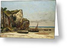 Beach In Normandy Greeting Card