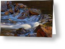 Bear Creek Waterfalls Greeting Card
