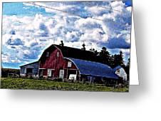Beautiful Barn Greeting Card