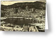 Beautiful Monte Carlo Greeting Card