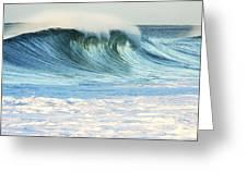 Beautiful Wave Breaking Greeting Card