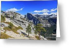 Beauty Of Yosemite Greeting Card