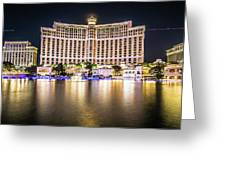 Bellagio Hotel On Nov, 2017 In Las Vegas, Nevada,usa. Bellagio I Greeting Card