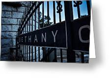 Bethany Cemetery Greeting Card