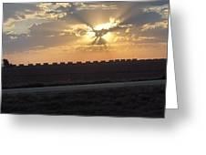 Big Sky Texas Style Greeting Card
