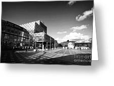 Birmingham City Library In Centenary Square Uk Greeting Card