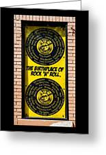 Birthplace Of Rock N Roll Greeting Card