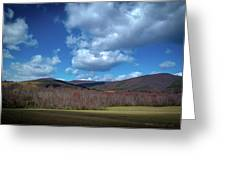Blue Ridge Foothills Greeting Card