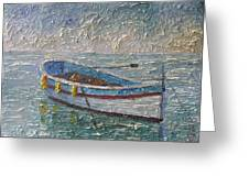 Boat Of Provence  Greeting Card
