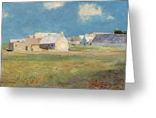 Breton Village Greeting Card