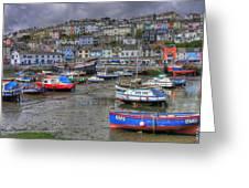 Brixham Harbour Greeting Card