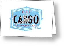 C-17 Cargo Greeting Card