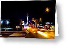 Ca Vegas Greeting Card