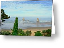 Cannon Beach, Oregon Greeting Card