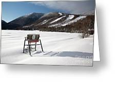 Cannon Mountain - White Mountains New Hampshire Usa Greeting Card