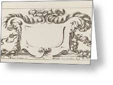 Cartouche Greeting Card