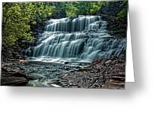 Cascadilla Gorge Falls Greeting Card