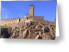 Castelgrande - Bellinzona Greeting Card by Joana Kruse