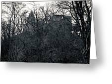Castle Frankenstein Greeting Card