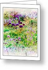 Castle Gardens Greeting Card