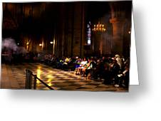Cathedrale Notre Dame De Paris Greeting Card