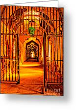 Cell Block 10 Greeting Card