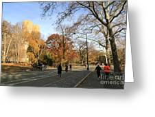 Central Park New York City Greeting Card