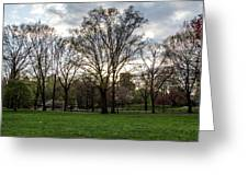 Central Park Views  Greeting Card