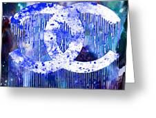 Chanel Art Print Greeting Card