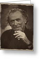 Charles Bukowski 2 Greeting Card