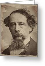 Charles Dickens 1 Greeting Card