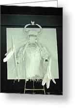 Charles Hall - Creative Arts Program - Spirits Of The Plains Greeting Card