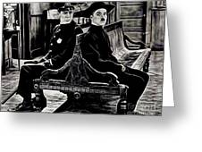 Charlie Chaplin Collection Greeting Card