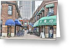 Charlotte Nc Downtown Greeting Card