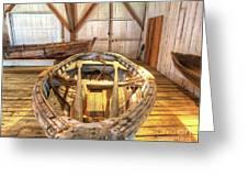 Chesapeake Bay Workboat Greeting Card