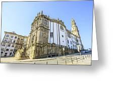 Church Of Clerigos Porto Greeting Card