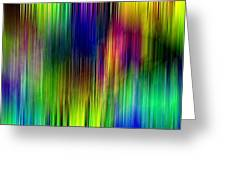 Cinetism - Abstract Greeting Card