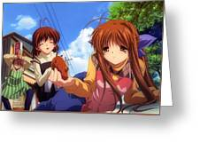Clannad Greeting Card