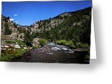 Clear Creek Canyon Greeting Card
