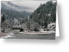 Clearwater River Greeting Card