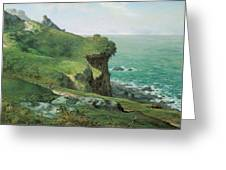 Cliffs Of Greville Greeting Card
