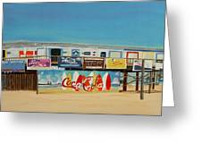 Cocoa Beach/cape Canaveral Pier Greeting Card