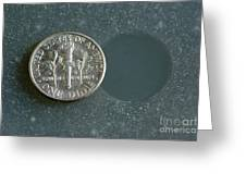 Coin Containing Silver Inhibits Greeting Card