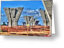 construction WHSD Greeting Card