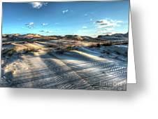 Coquina Beach, Cape Hatteras, North Carolina Greeting Card