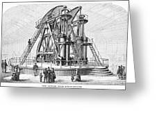 Corliss Steam Engine, 1876 Greeting Card by Granger