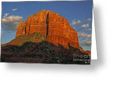 Courthouse Butte Greeting Card