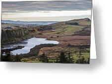 Crag Lough Greeting Card