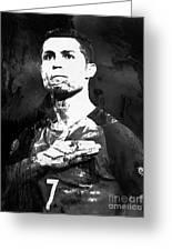 Cristiano Ronaldo Oki Greeting Card
