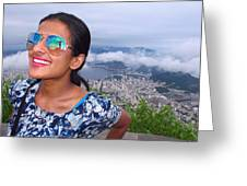 Cristo Redentor, Brazil Greeting Card